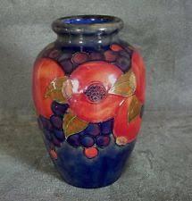 Moorcroft Clematis Vase Moorcroft Vase Ebay