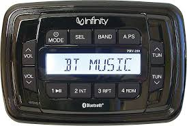 infinity inf prv250 marine digital media receiver with built in