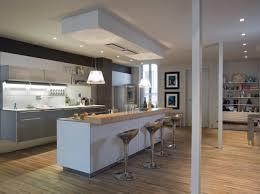 hotte cuisine ouverte les nouvelles cuisines à vivre décoration nouvelle cuisine