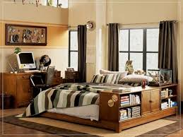white laminated bed frame light green painting wall boat shape
