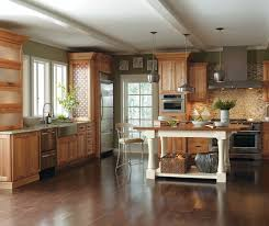 a cherry wood kitchen cabinet casual cherry kitchen cabinets in finish