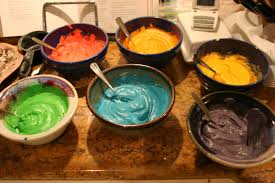 a muse abroad rainbow cupcakes and bead bowls