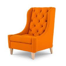orange chair cushions dining room chair decoration orange