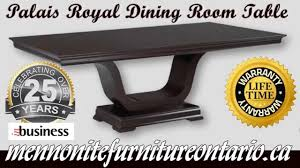 mennonite furniture kitchener mennonite dining room table palais royal dining room table