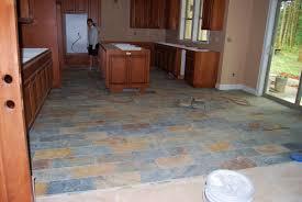 backsplash slate floors in kitchen best slate flooring ideas