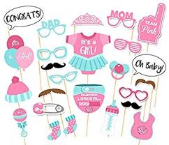 baby shower kits it s a girl baby shower party photo booth props kits