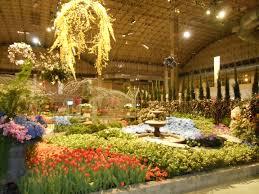 chicago flower and garden show at navy pier stretchingittotravel
