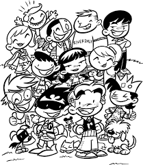 archie titans coloring page wecoloringpage
