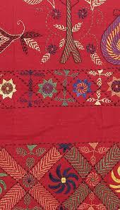 nakshi kantha nakshi kantha embroidered cotton bedcover set with kalka motif