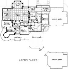 corner lot floor plans plan w23413jd craftsman luxury corner lot country shingle