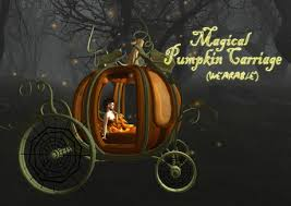 pumpkin carriage second marketplace boudoir wearable magical
