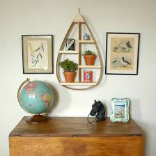 Quirky Bookcase Quirky Teardrop Shaped Shelves Add Unconventional Style To