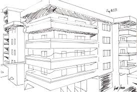 apartment complex plans days drawing little sketch modern apartment building home plans
