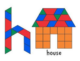 pattern block house template 229 best math pattern block pictures images on pinterest pattern
