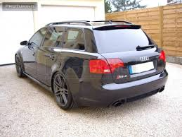 audi a4 s4 b6 b7 01 08 avant painted lz9w rs4 roof spoiler rear