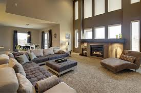 Family Room Sofas by Widhalm Custom Homes Omaha Woodland Model Living Room Family Room