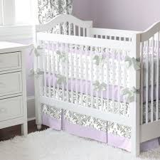Purple Nursery Bedding Sets Nursery Beddings Purple Baby Crib Bedding Sets With Baby