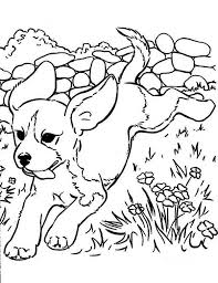 cute puppies coloring free download