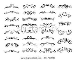 free scroll ornament vector banner free vector