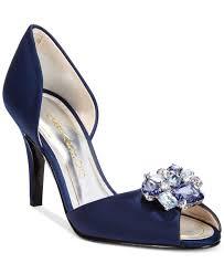 wedding shoes macys lyst caparros veranda evening pumps in blue