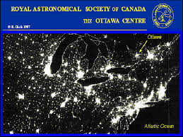 Light Polution Map Ottawa Centre Light Pollution Abatement Booklet