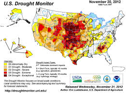 United States Drought Map by 2012 Midwest Drought In The United States Journal Of Hydrologic
