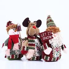 aliexpress com buy 1 pcs table ornament snowman moose cute