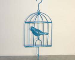 Birdcage Home Decor Bird Cage Wall Decor Etsy