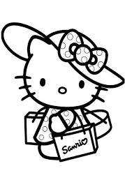kitty coloring pages kids printablefree coloring pages