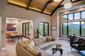 craftsman design homes waynesville mountain modern craftsman house acm design