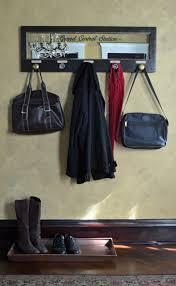 wall mounted coat rack mirrored vintage door coat rack with 5 knobs