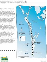 Florida Trail Map by Gasparilla Island Boca Grande Rail Trail Maplets