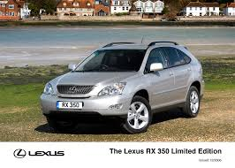 lexus rx 350 price uk lexus launches 2007 with new rx 350 limited edition lexus uk