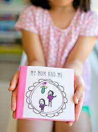 mothers day books kid made free printable s day book