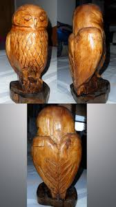 owl wooden carving by innerwolf88 on deviantart