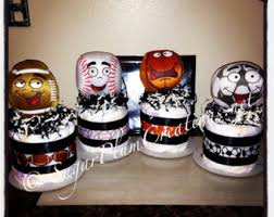 Sports Baby Shower Centerpieces by Sports Diaper Cake Etsy