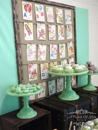 vintage themed baby shower by a touch of style events u2013 the little