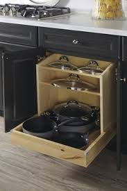 Cabinet Pan Organizer Pots And Pans Organizer Base Cabinet By Thomasville Cabinetry