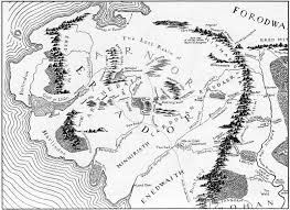 Lotr Map Eriador The One Wiki To Rule Them All Fandom Powered By Wikia