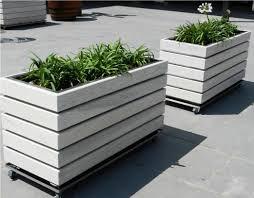 terrarium design amazing modern wood planter box large wood