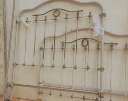 Antique Cast Iron Bed Frame Wrought Iron Bed Etsy
