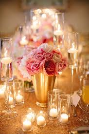 Pink And Gold Centerpieces by 86 Best Pink And Gold Party Images On Pinterest Gold Party