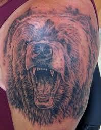 grizzly bear roar tattoo roaring bear tattoo design on u0027 u0027mothers