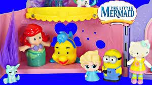 ariel u0027s castle disney princess seahorse mermaid