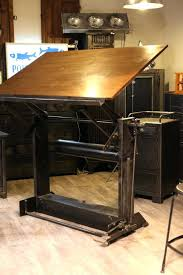 bureau de dessin bureau a dessin meuble de metier industriel table a dessin