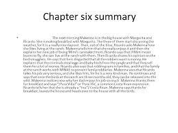robo en la noche chapter summaries ppt