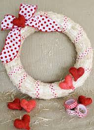 valentines day wreaths 25 diy s day wreaths door decorations for