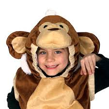 Monkey Halloween Costumes Totally Ghoul Plush Monkey Vest Toddler Halloween Costume