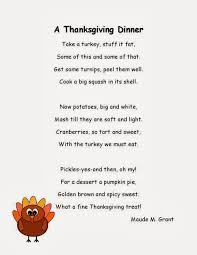 Acrostic Thanksgiving Poem Thanksgiving Poem In Poems About Thanksgiving For Kids Learn