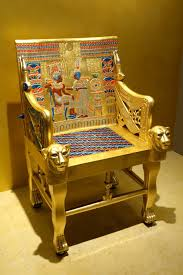 file chair from tomb of tutankhamun reproduction fitchburg art